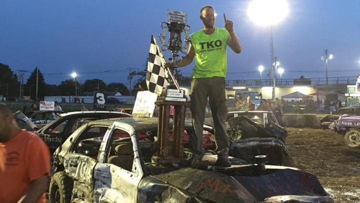 DEMOLITION MAN: SMASHED UP AT THE BROCKTON FAIR AND ALL I GOT WAS THIS ARTICLE