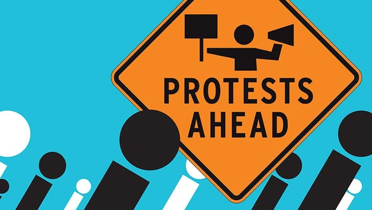 FALL BACK, PROTESTS AHEAD: OCTOBER IS FOR ACTIVISM