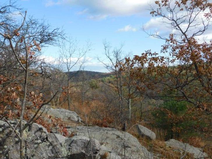 blue hills skyline trail